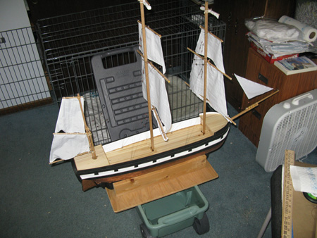 HMS Beagle Model Ship Project