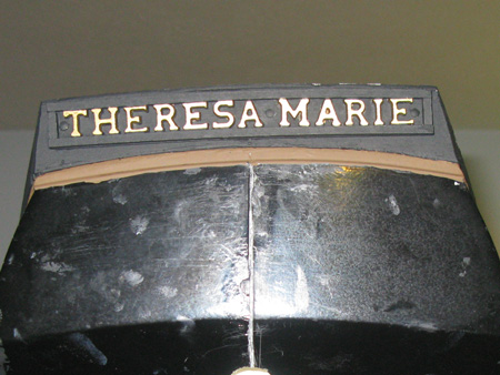 Nice to finally see THERESA MARIE on the ship.