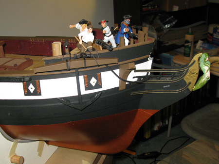 I know it's not prototypical, but I'm really digging the Trireme Eye look the anchor placement is starting to make.