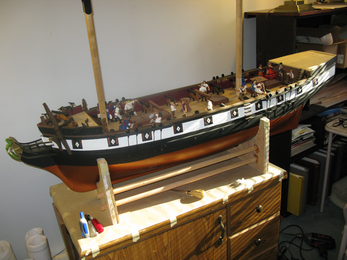 Theresa Marie Model Ship Project