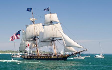 The brig Niagara
